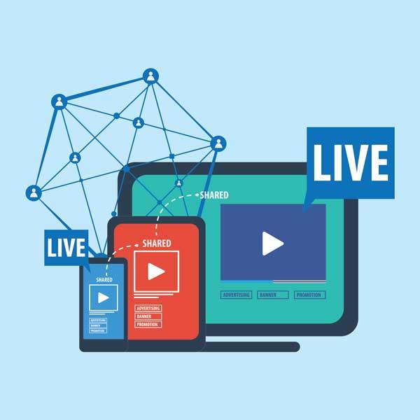 Social MEdia Livestream