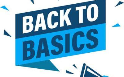 Rules 1 & 2: Fix the Basics